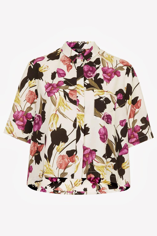 flower shirt topshop,