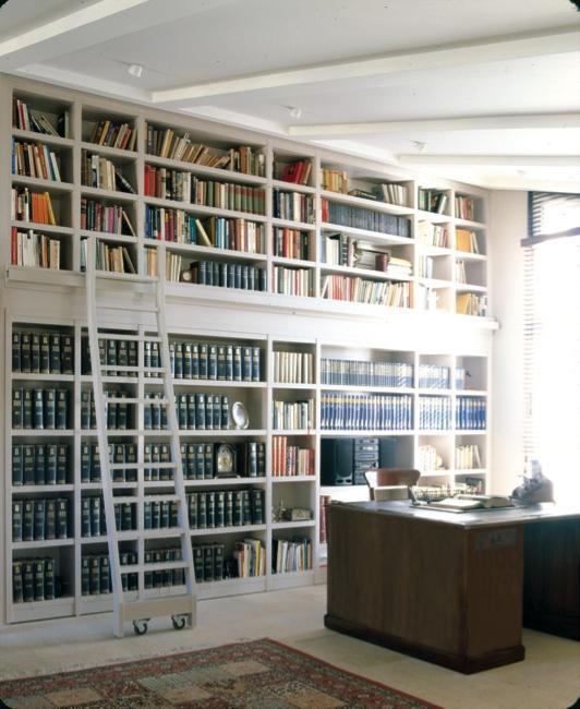 librerias con escalera