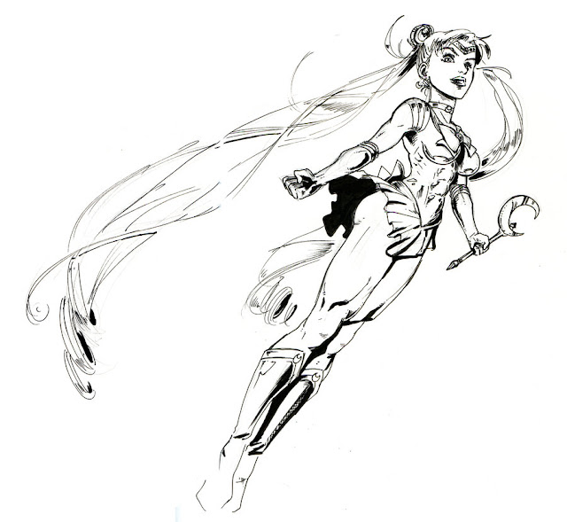 Sailor Marvel Moon por Margalot