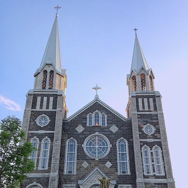L'église de Baie-Saint-Paul