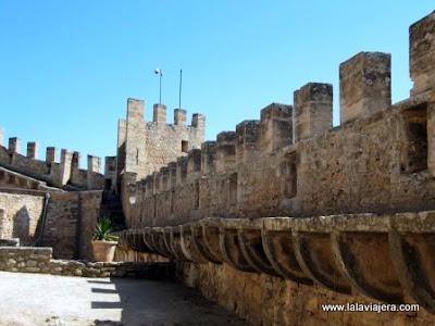 Camino de Ronda, Muralla Castillo Capdepera