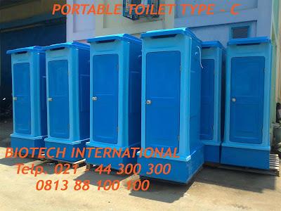 portabel toilet fiberglass, toilet portable fibreglass, wc proyek, toilet lapangan, toilet praktis, urinoir, closet duduk, jongkok, septic tank biotech, sepiteng biotek