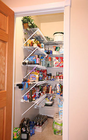 Food storage solutions for a small home