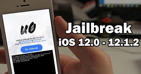 جيلبريك Jailbreak unc0ver للاصدارات iOS 12.0 - 12.1.2