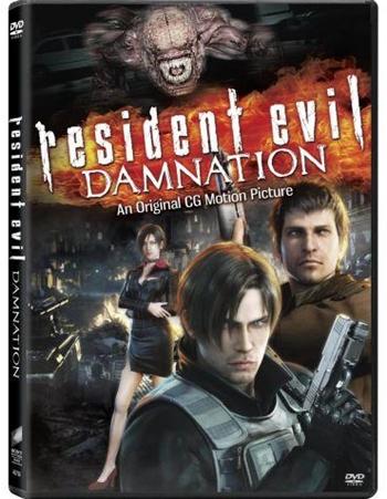 Resident Evil Damnation DVDRip Español Latino Película 2012