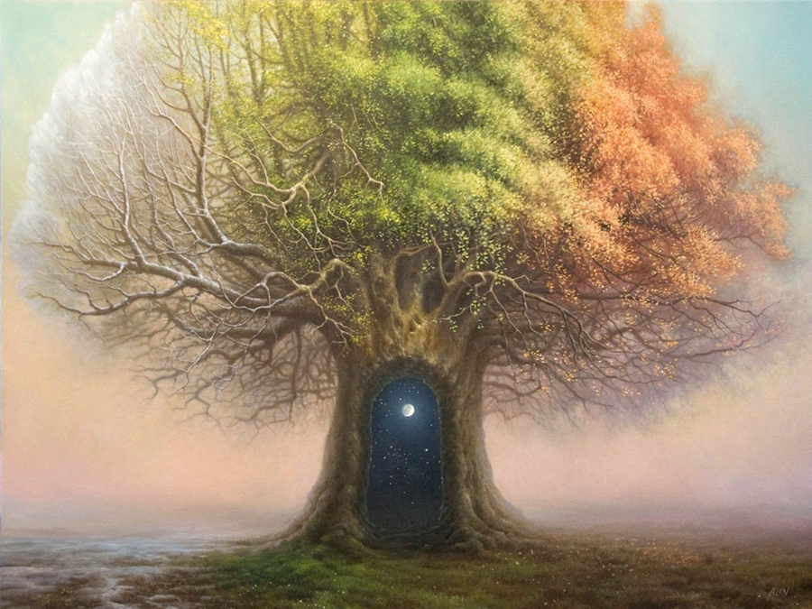 Tomasz Alen Kopera - Magical Surrealism painter
