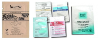 free Lavera Organic Skin Care samples