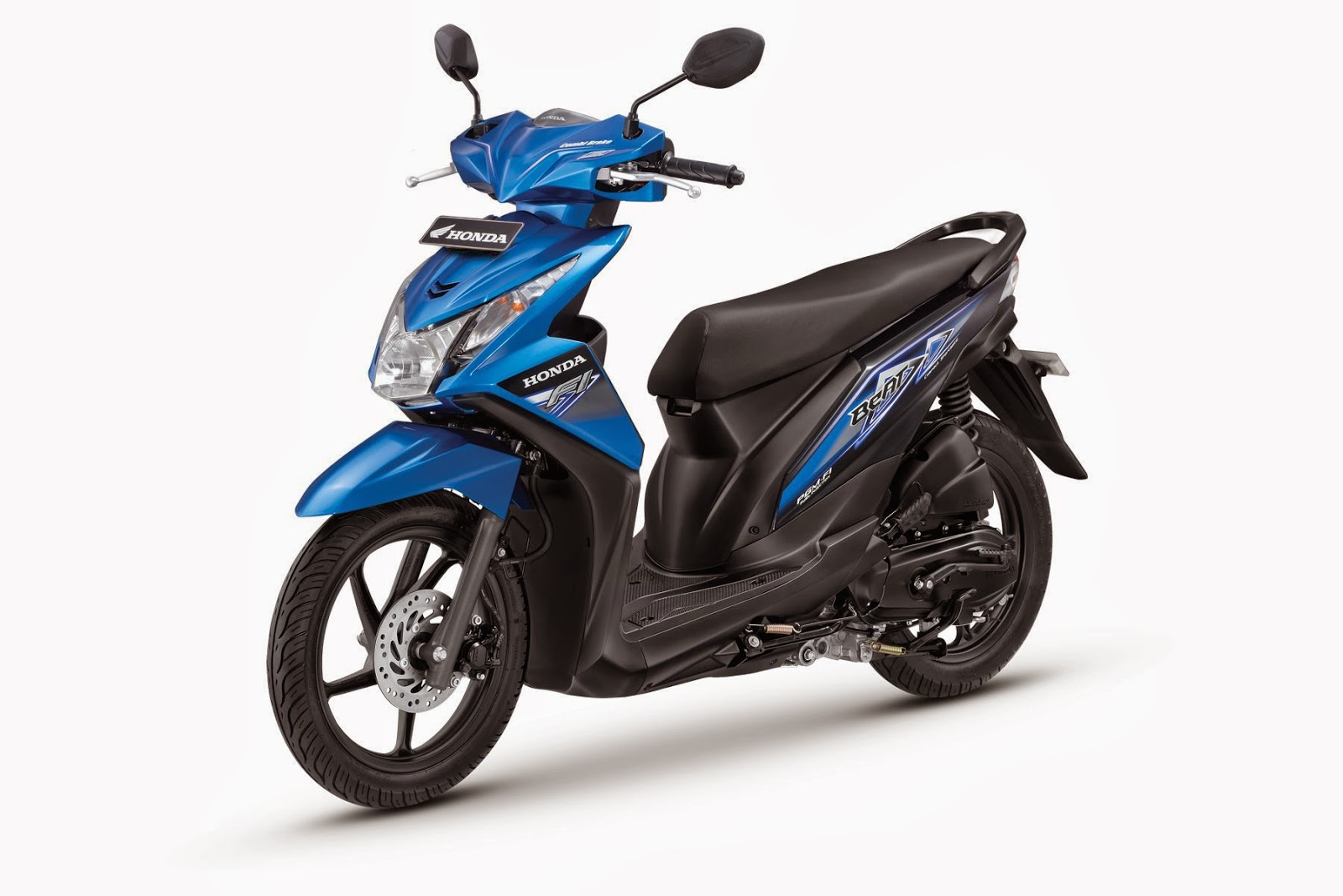 The All New Honda BeAT- FI CBS Trance Blue