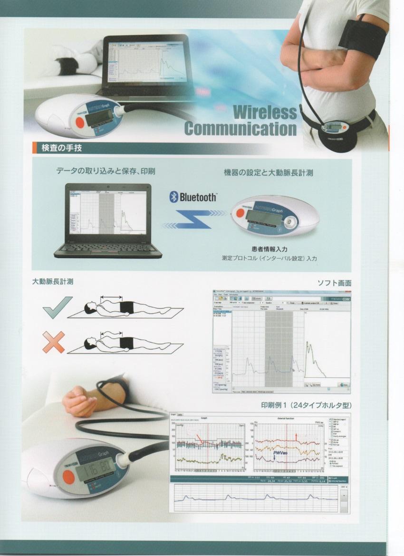 Bluetooth 動脈解析