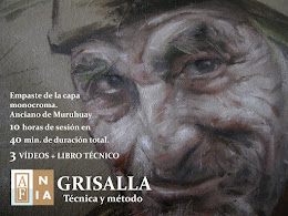 SERIE GRISALLA EMPASTE DE LA BASE MONÓCROMA