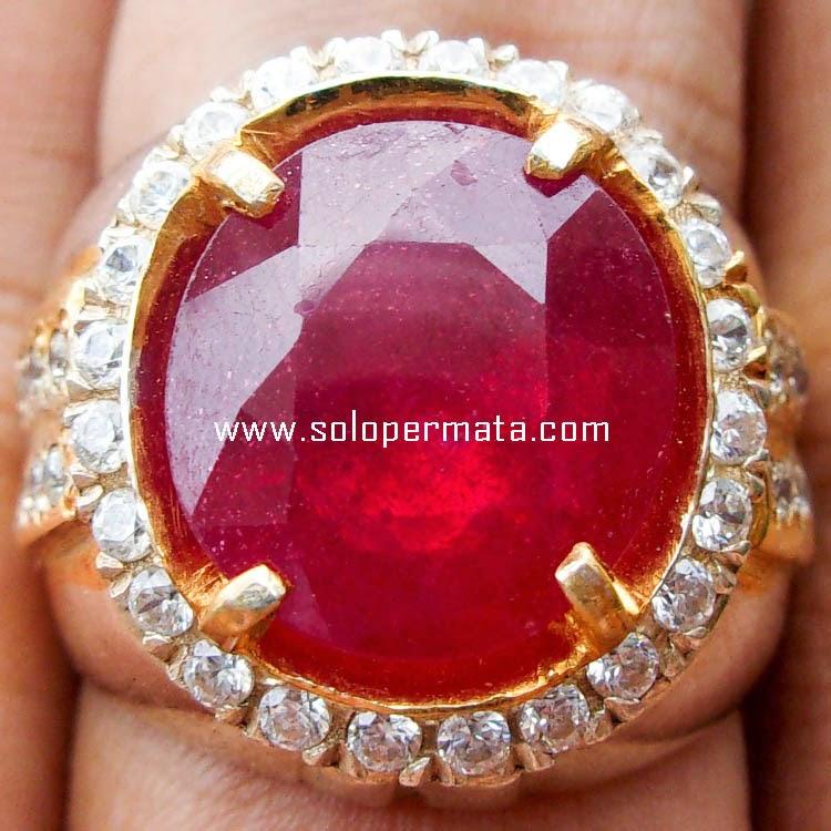 Cincin Batu Permata Ruby