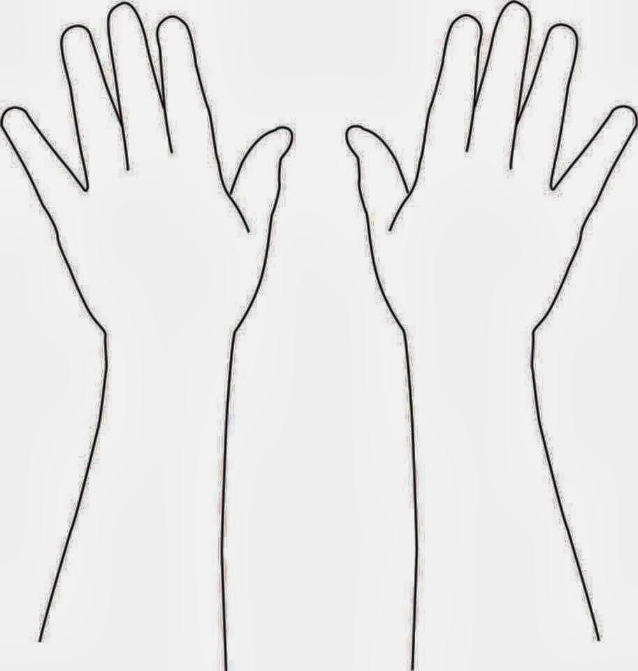 Mehndi Hand Outline : Nana henna ungaran semarang blank templates for