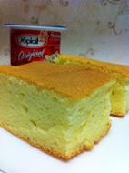 Yogurt Sponge Cake