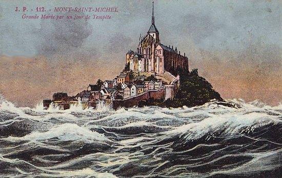 Le Mont Saint-Michel en automne
