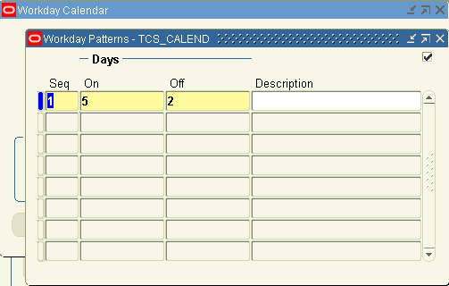 how to create calendar in oracle apps r12