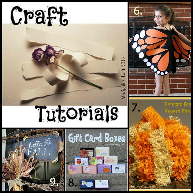 Craft tutorials linky