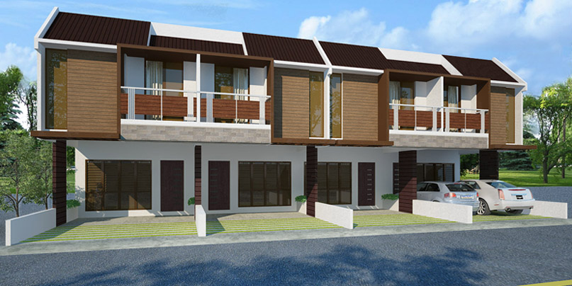 Nicebalay for sale cheap house and lot in tabok mandaue for Townhouse design plans philippines