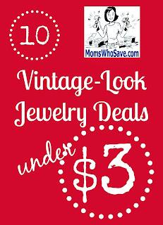 10 Vintage-Look Jewelry Deals UNDER $3!