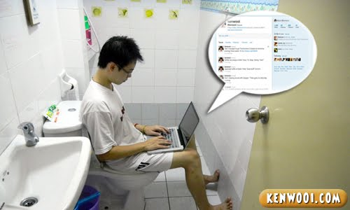 internet in toilet