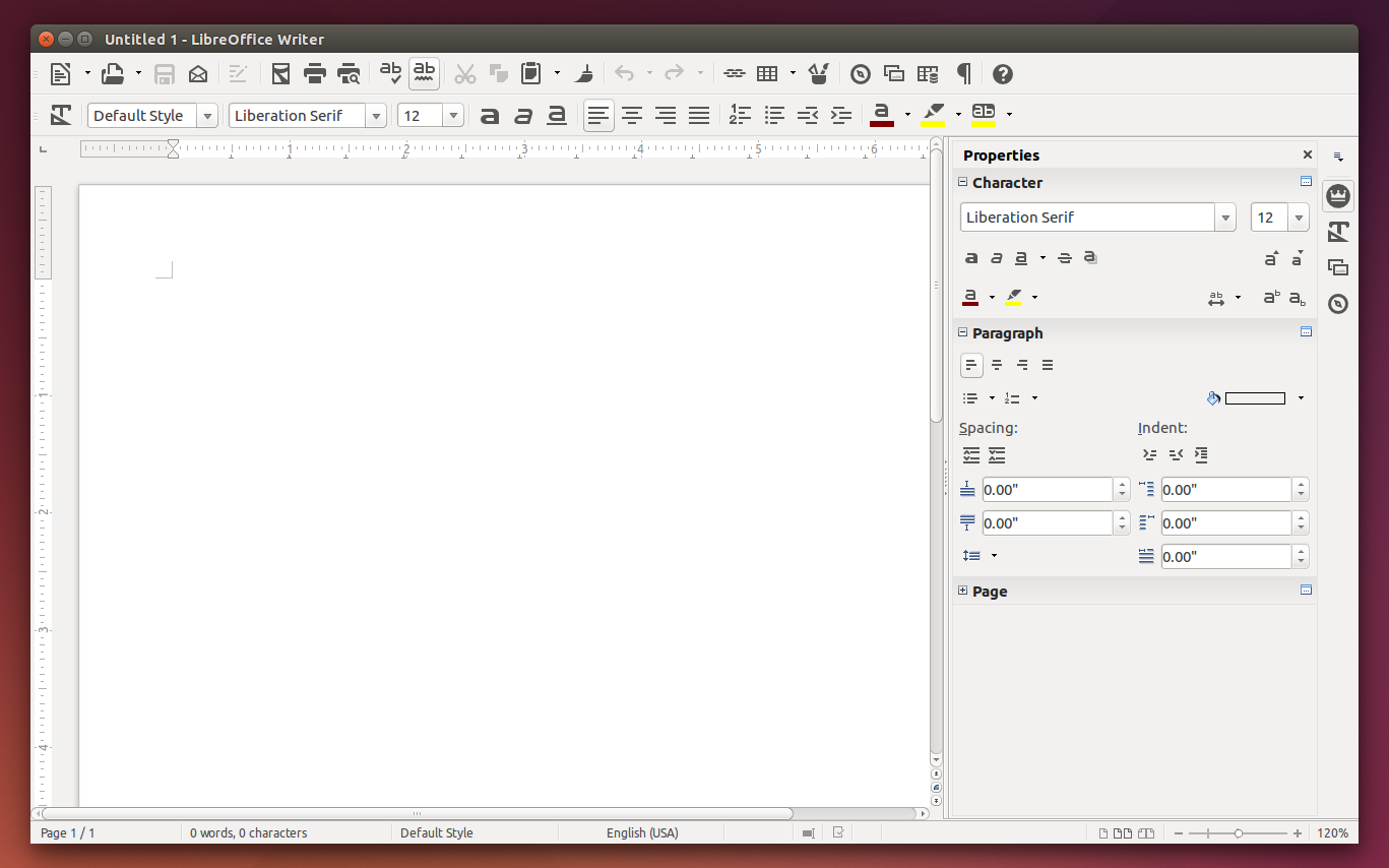 How to enable sidebar and monochrome icon set on Libreoffice