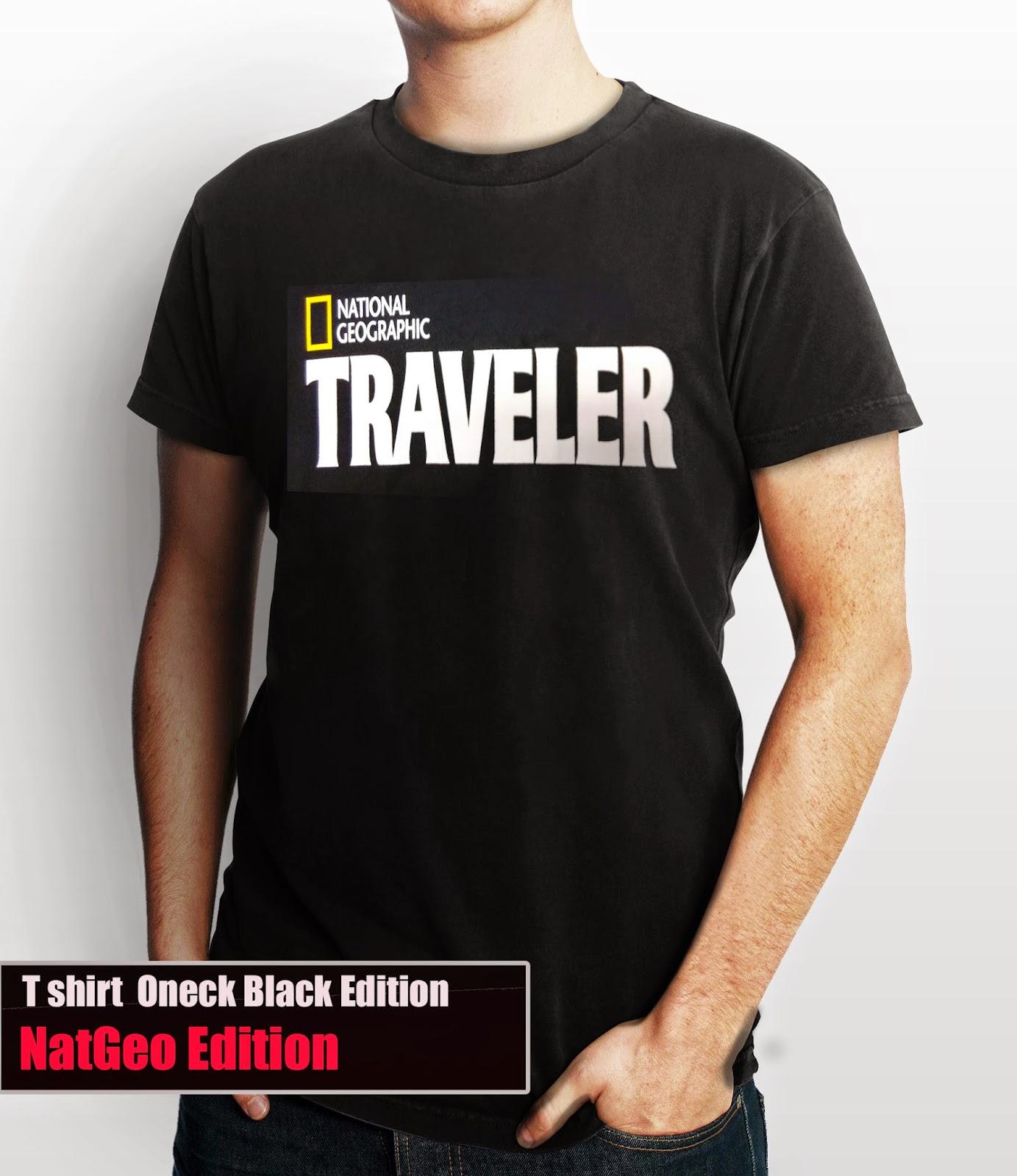 Kaos Natgeo Traveler