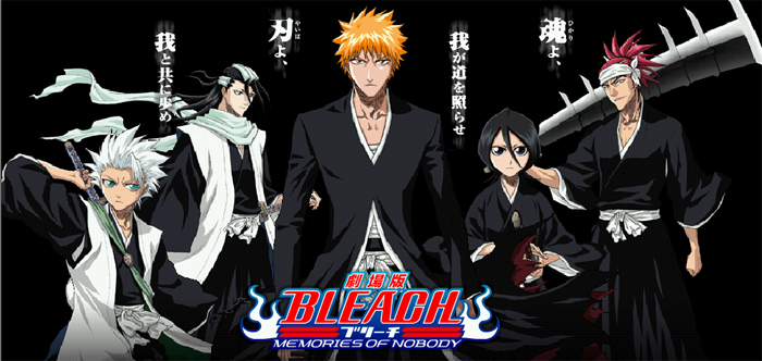 bleach cartoon characters television