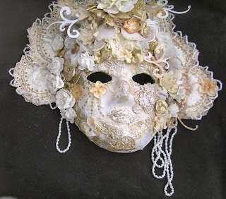 Lace embellished mask 2014