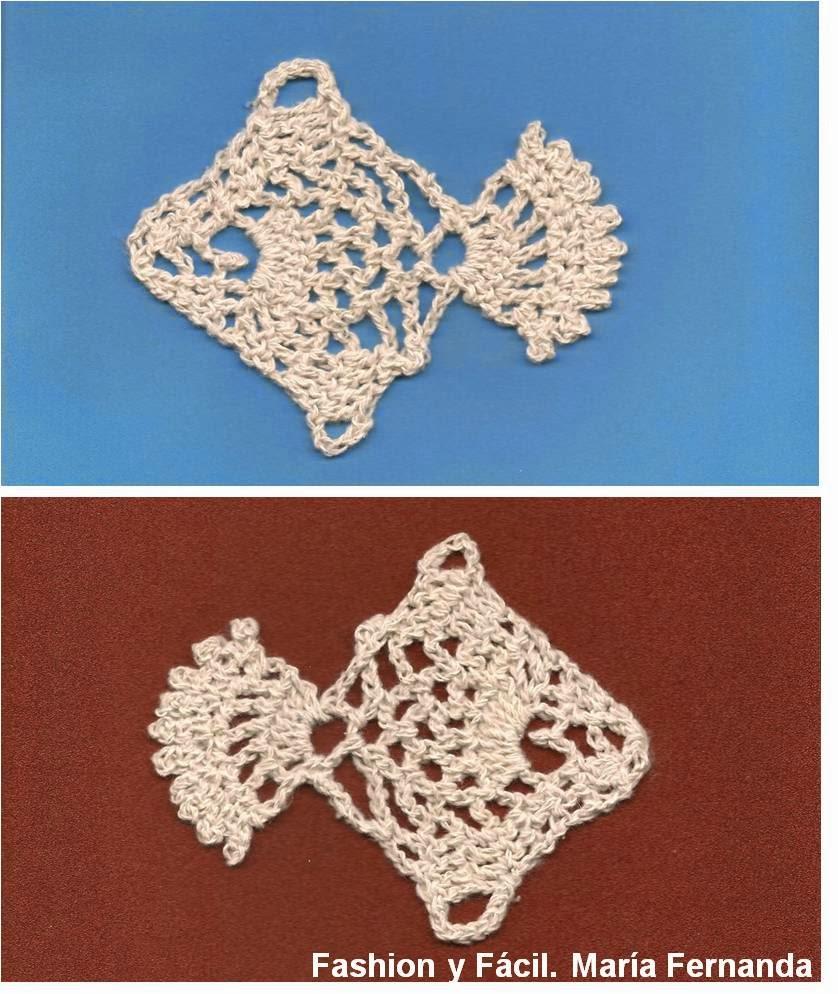 Fashion y Fácil : Pez tejido a crochet y usarlo como aplique. Tejer ...