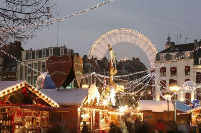 Christmas Markets in Europe - Lille, France
