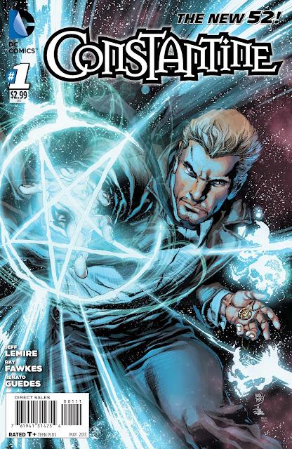 Constantine DC New 52