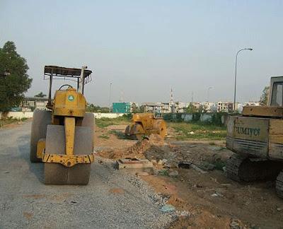 Dự án Đất nền Hoàng Anh Gia Lai đang thi công