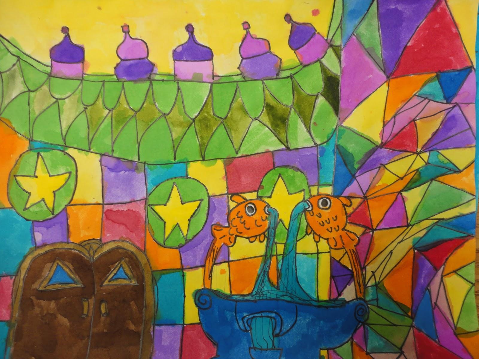 Mrs. Elder\'s World of Art: Hundertwasser paintings