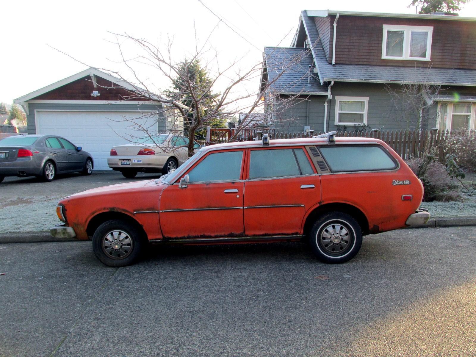 the street peep 1976 datsun 610 wagon