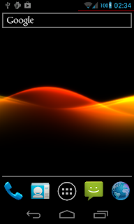 abstract waves live wallpaper