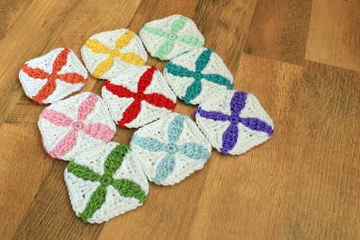 """IMG 8706 picnik 3 1/2"""" Quilt Inspired Crochet Square"""