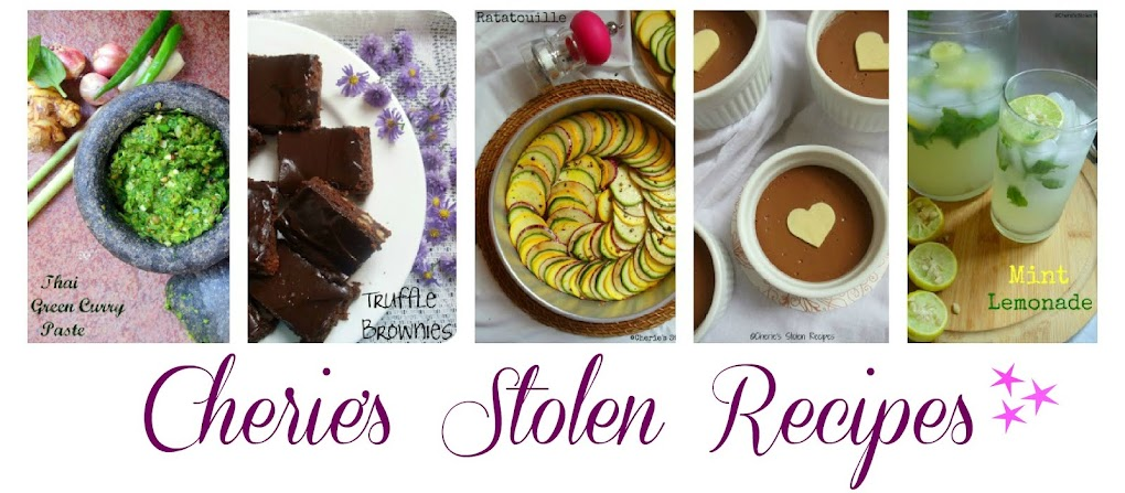 Cherie&#39;s Stolen Recipes