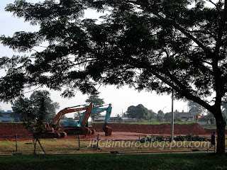 Bulldozer Bintaro Jaya