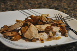 Chicken with Chanterelles and White Wine