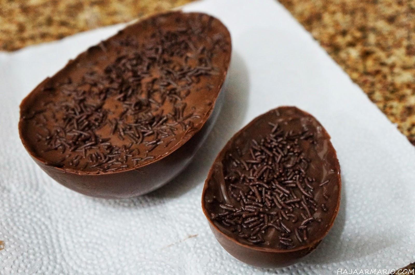 receita ovo de páscoa de colher haja gula chocolate blog haja armário