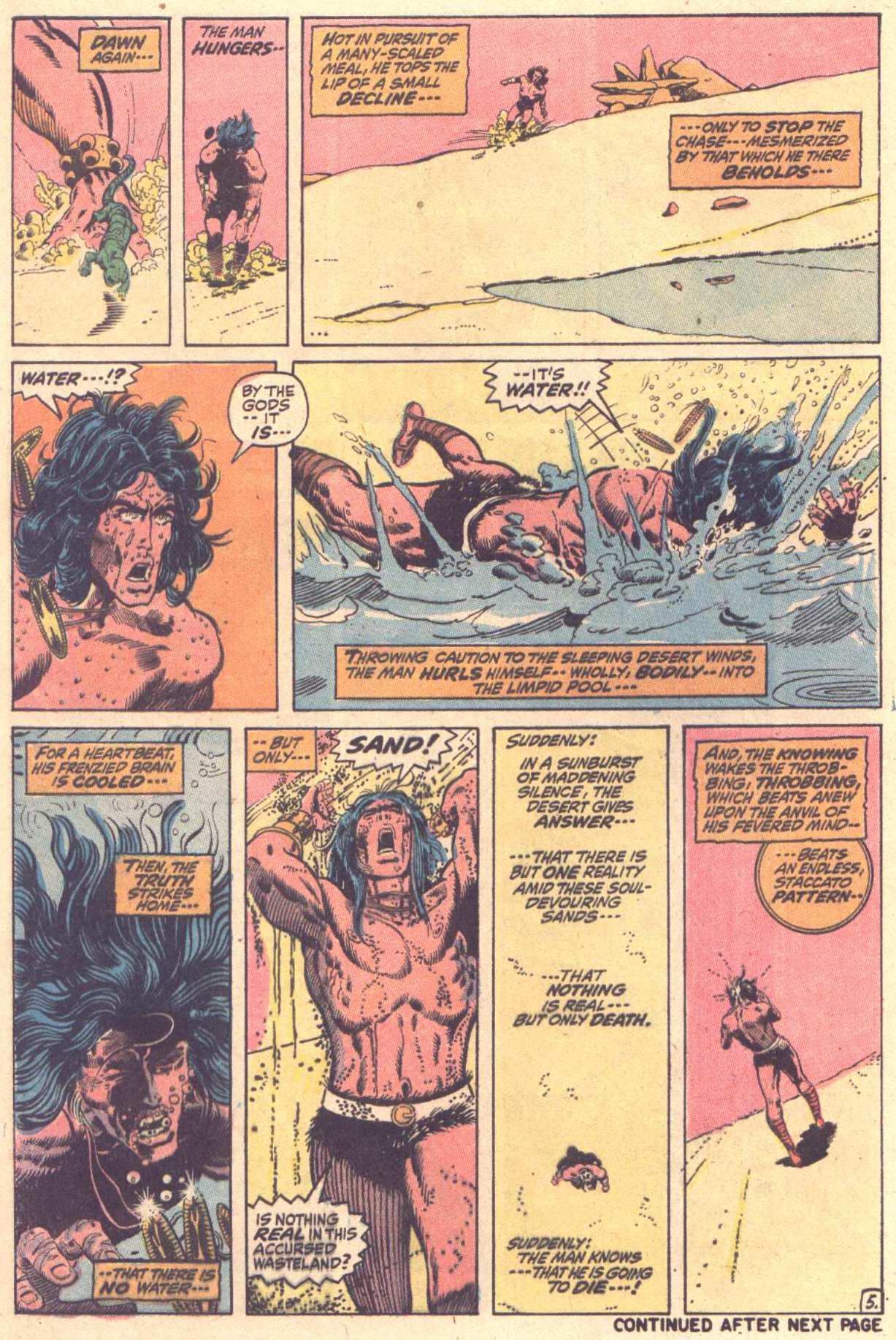 Conan the Barbarian (1970) Issue #13 #25 - English 6