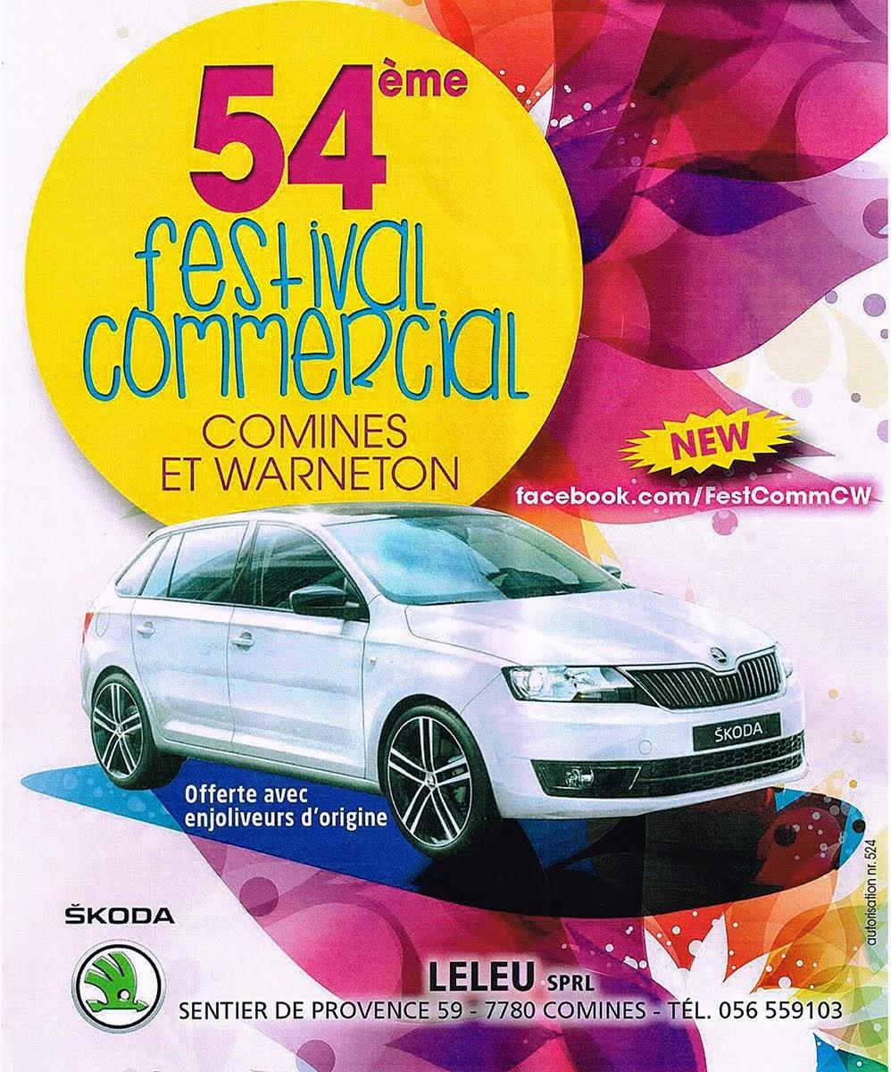 festival commerce cominois