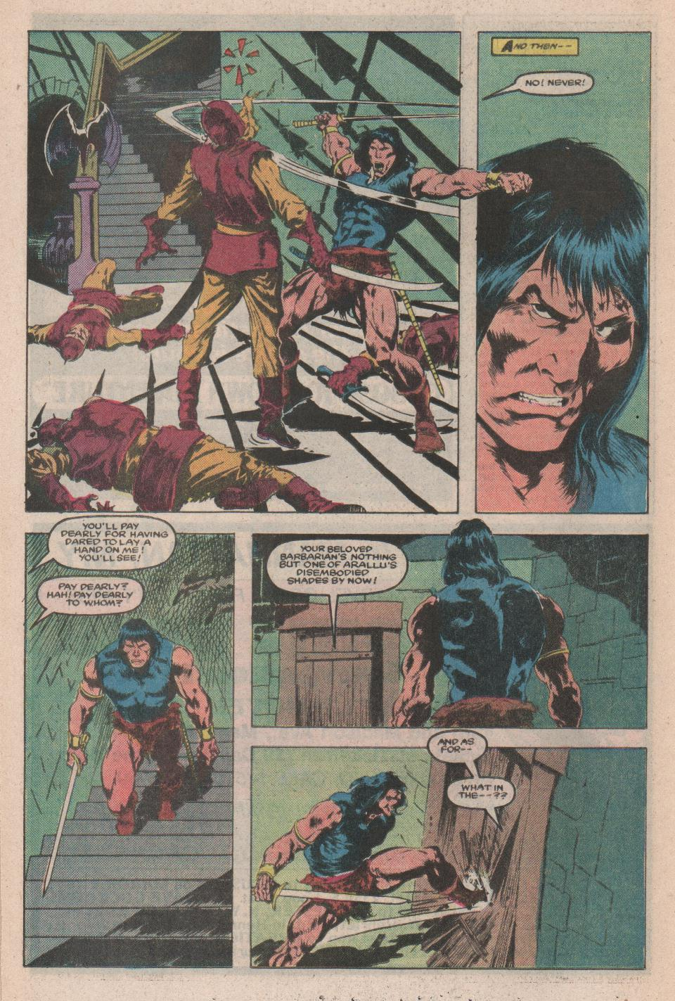 Conan the Barbarian (1970) Issue #171 #183 - English 18