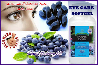 Khasiat Eye Care Softgel Green World