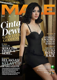 Cinta Dewi for Male Magazine, May 2013 (Part 2)