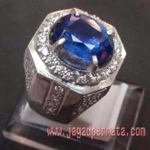 Batu Permata Kiyanite Top Color Blue