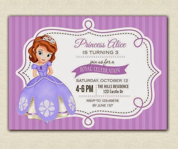 Invitaciones para Fiesta de Cumpleaños