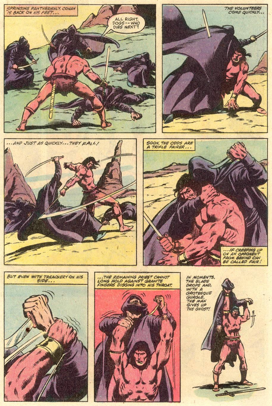 Conan the Barbarian (1970) Issue #126 #138 - English 6