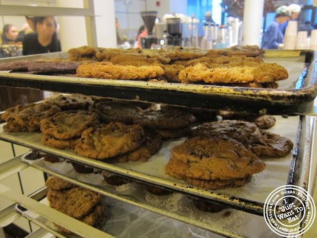 Image of Tray of cookies at City Bakery in NYC, New York