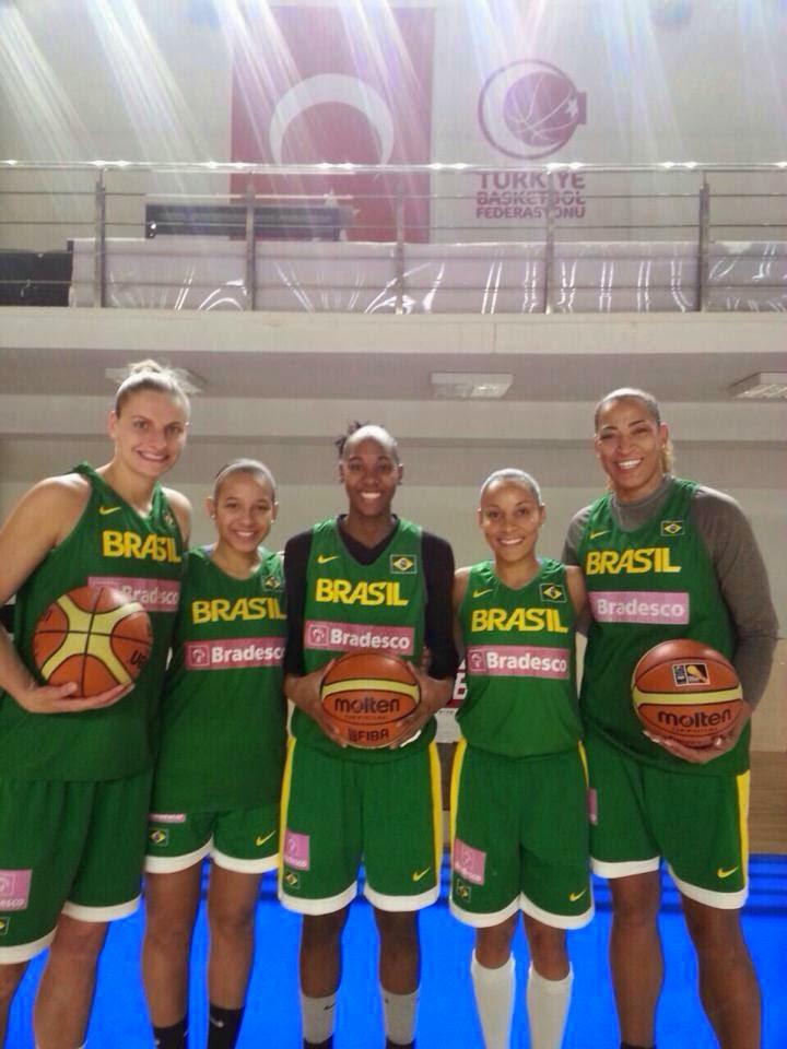 O América é Brasil no Mundial de Basquete Feminino