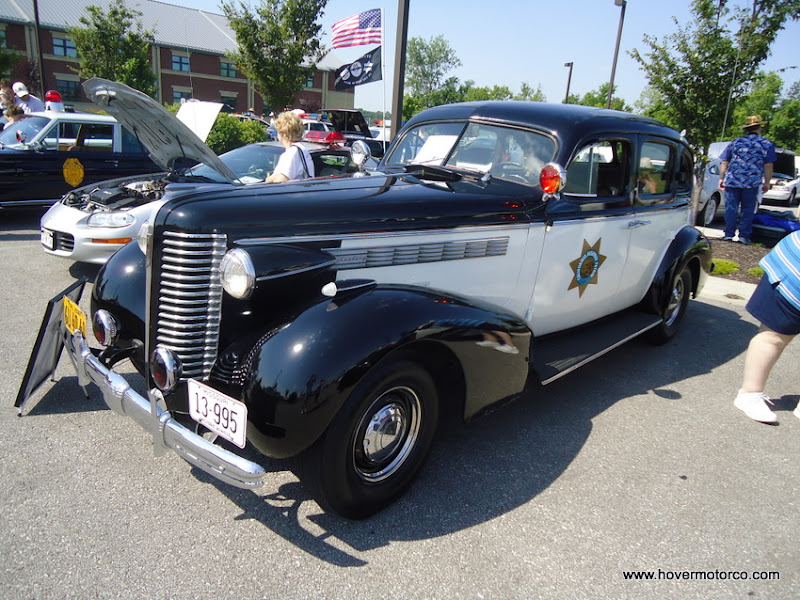 Hover motor company 20th annual national police car for Ford motor company kansas city mo